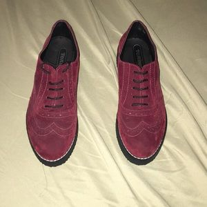 Shoes - Maroon dress shoes